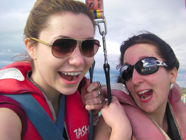 Parasailing, Bay of Islands