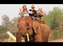 Luang Prabang with a Bang : Elephant Rides in Laos