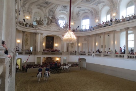 Spanish Riding School-  Vienna, Austria