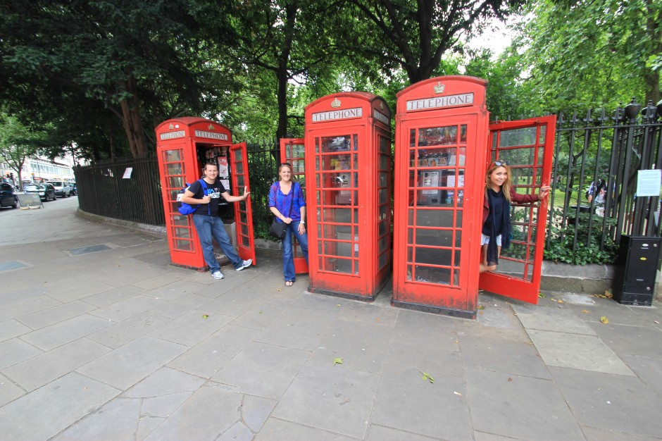 Telephone Booth- London, England