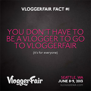 Join me at VloggerFair