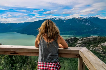 Chief Overlook Platform - Sea-to-Sky Gondola, Squamish BC-4