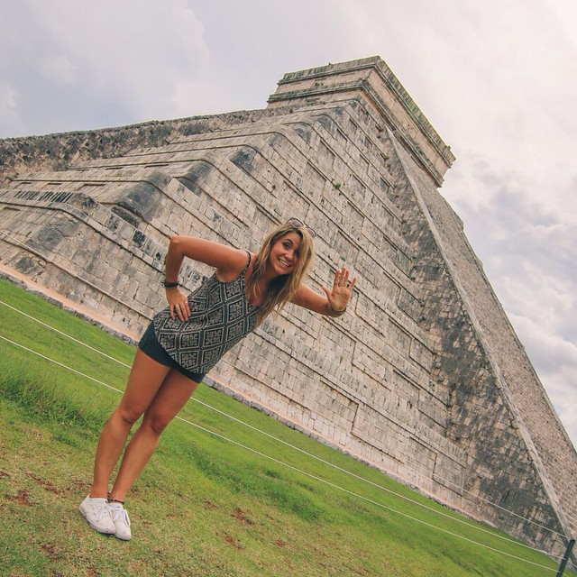 Hola Mexico! First stop Chichen Itza on my @viatortravel day tour from #Cancun! #travel #mexico #yucatan