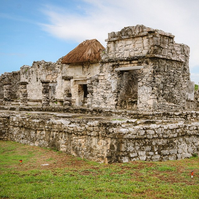 The ruins of Tulum, Mexico. ? #travel #history #ancient #architecture