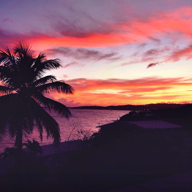 Happy Saturday Night!! ? #sunsets #tropics #tobago #ttot