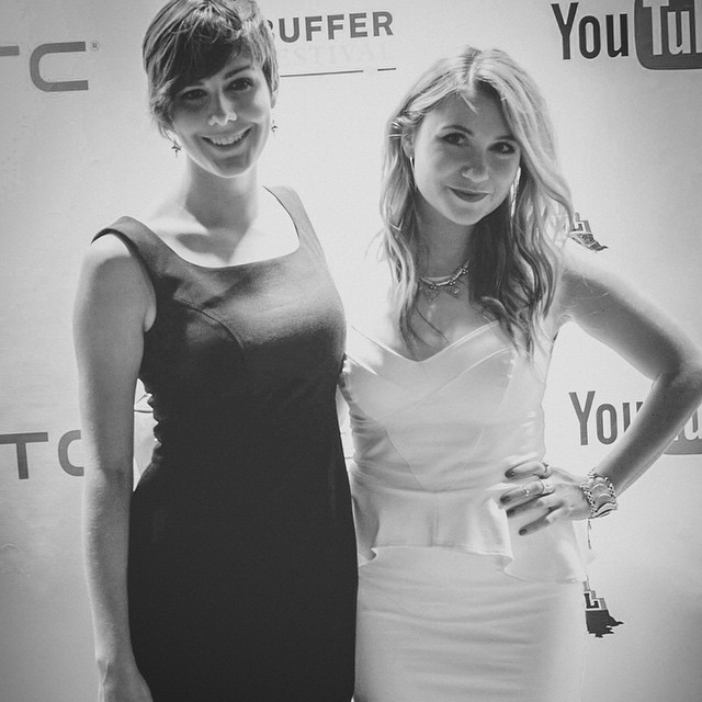 Sugar & Spice ? @bryarlybishop  Taken at the @bufferfestival Gala.