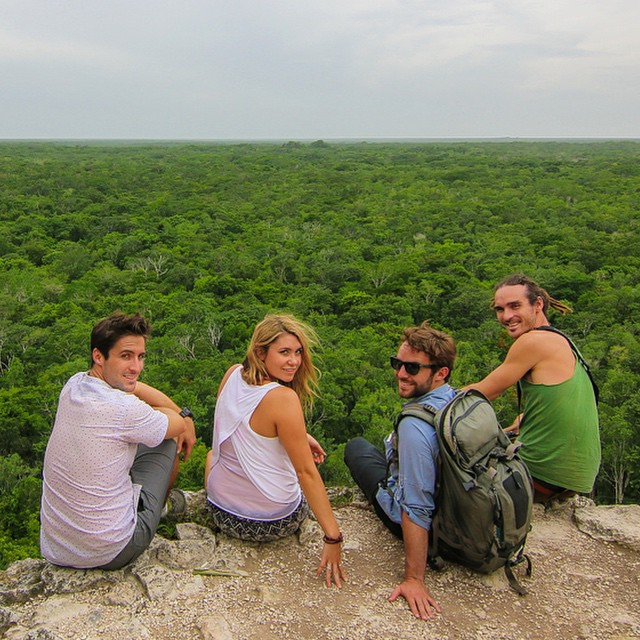 Such a fantastic time had in Mexico with @funforlouis @vagabrothers love these boys! ?? Looking forward to more exploring! #mexico #ruins #coba #city