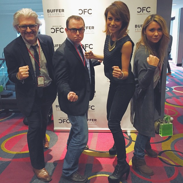 First @bufferfestival panel done! Bam! ? @shiralazar @cfccreates