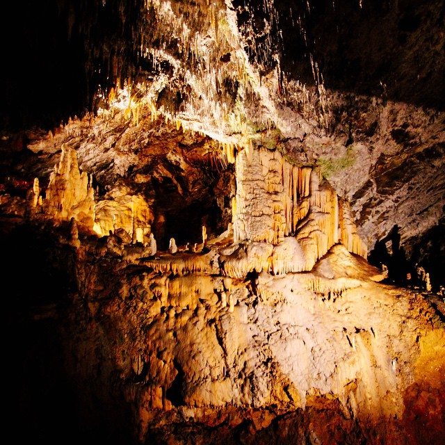 Epic Postojna Caves! Slovenia. #travel #caves #thehobbit #underground #slovenia #europe #geology