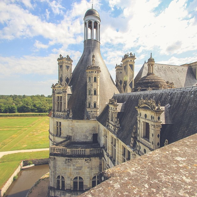 Real life fairytale castles. ? Chateau de Chambord, France. ?? 2012.  Q: What fairytale is YOUR favourite?  #castles #Disney #beautyandthebeast #france #travel #princesses #fairytales
