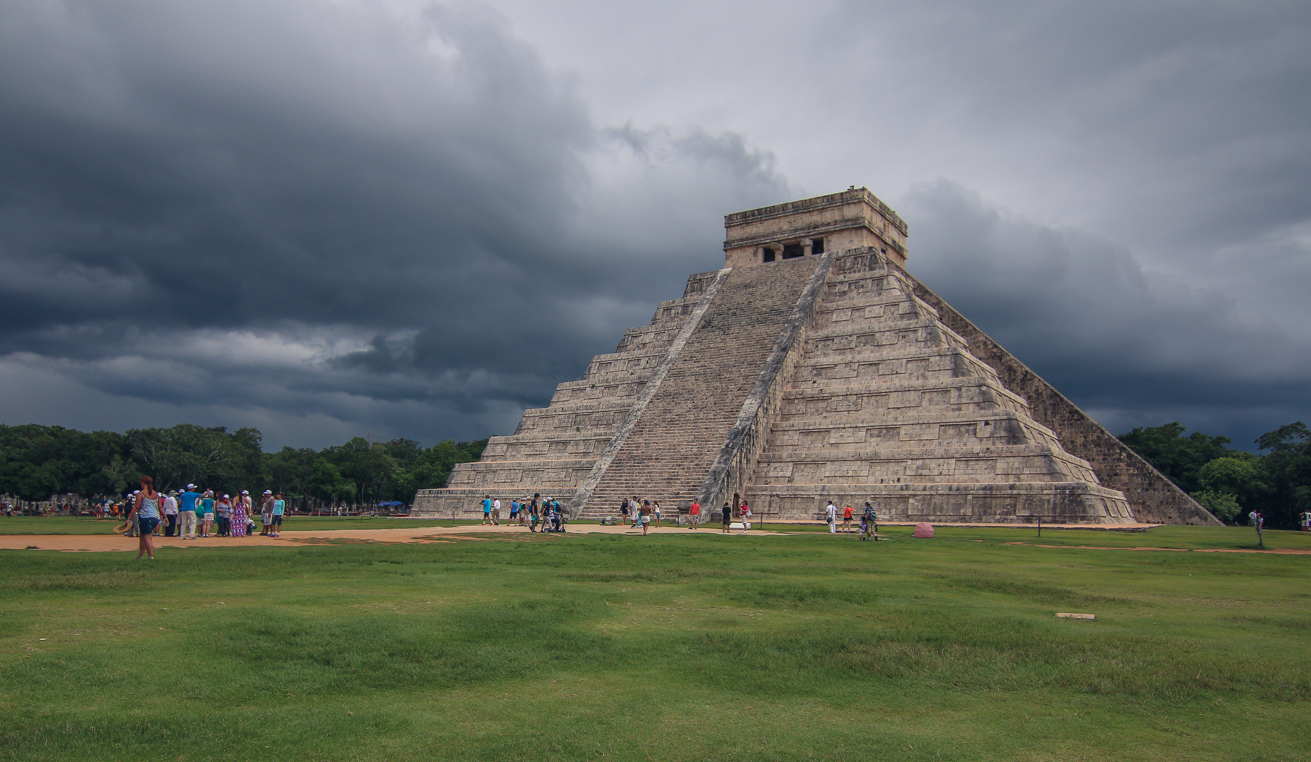 Exploring Chichen Itza Mexico