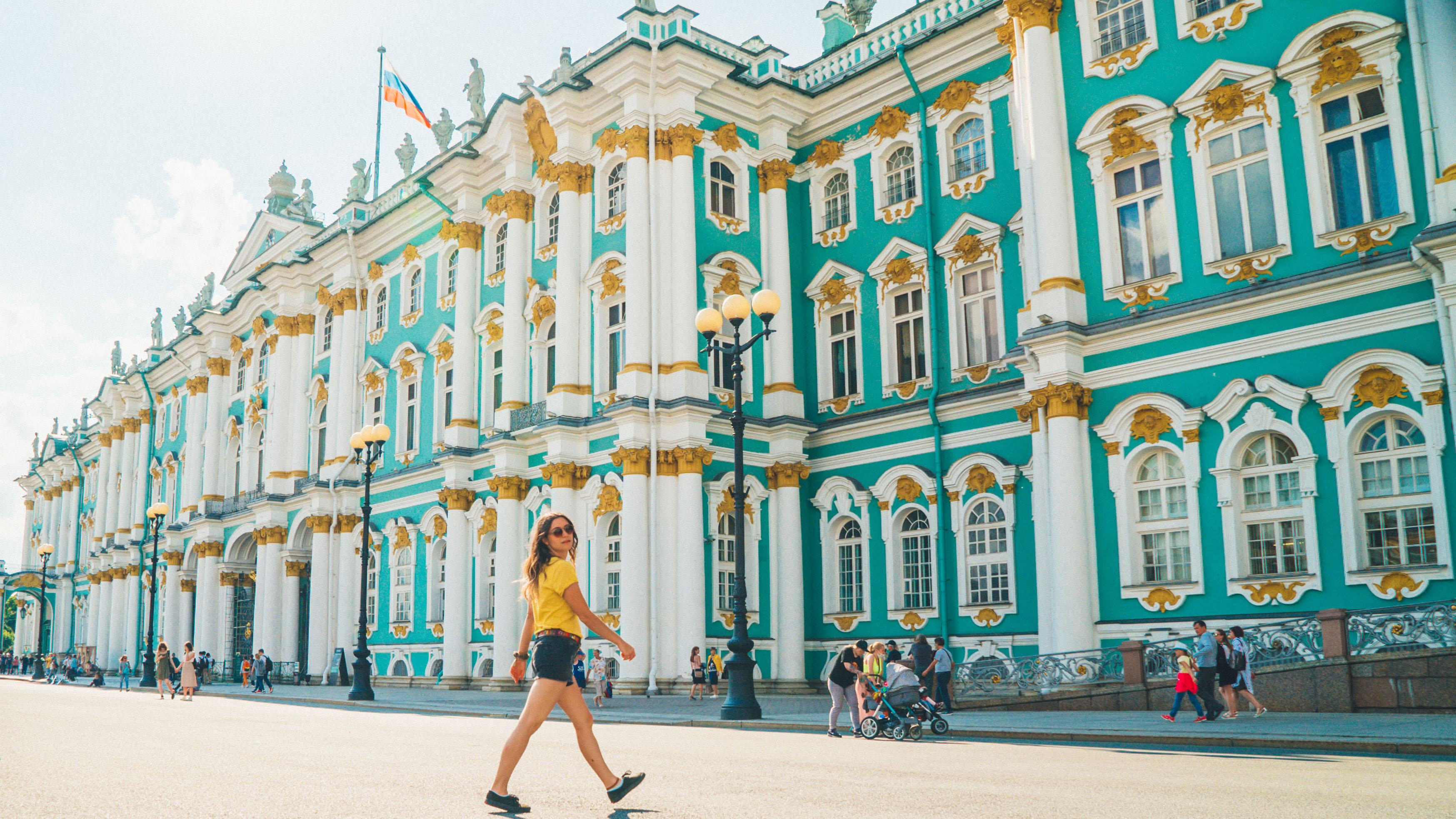 Wow Summer In St Petersburg Russia Eastern Europe